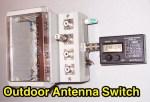 Outdoor HF Antenna Switch