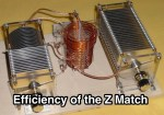 Efficiency of the Z Match