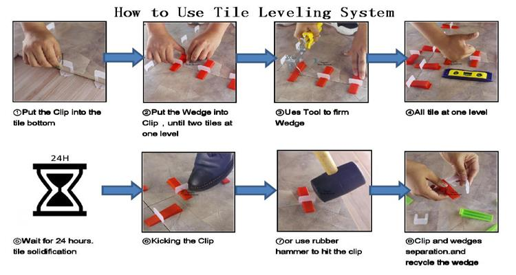china customize tile leveling clips and