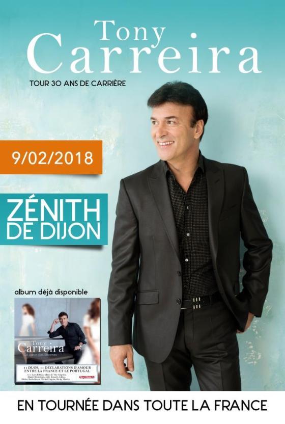 Affiche Tony Carreira - Dijon