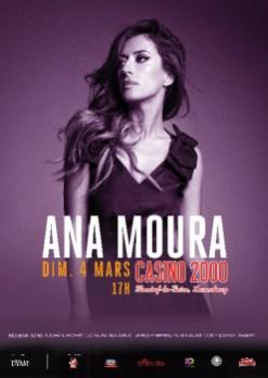 Ana Moura - Casino 2000 - Mondorf Les Bains - 4 Mars 2018