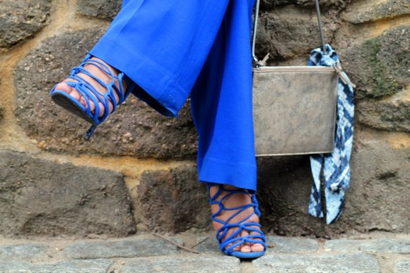 Dyandra-Raye-Blue-Pants-Blue-Sandals