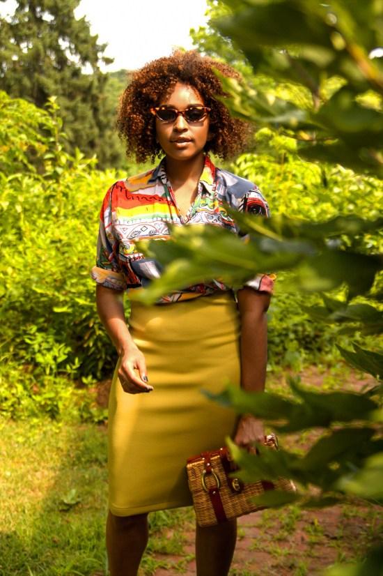 Nature Fashion Blogger Photoshoot