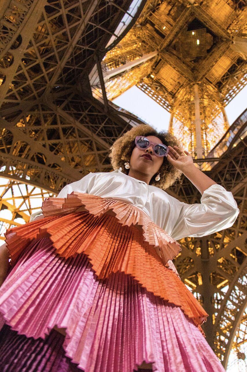 Dyandra Raye Paris Fashion Week