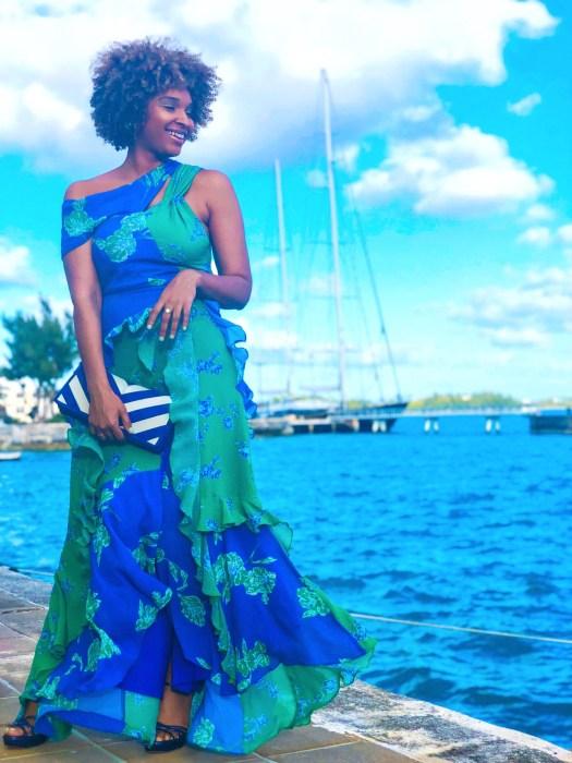 Tanya Taylor Floral Maxi Dress