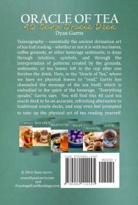 oracle of tea bottom of box dyan garris