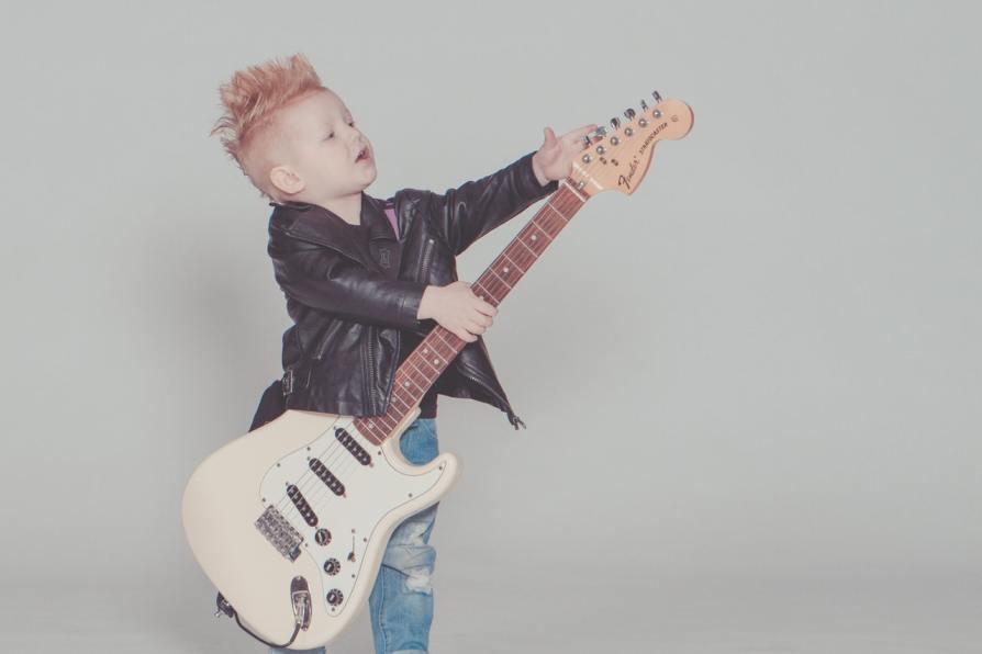 Music school kid