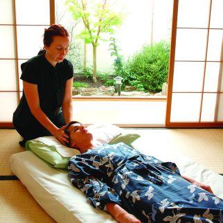 Enjoy an optional massage on the SAORI Immersive Retreat