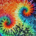 Double Swirl -ladies tie dye