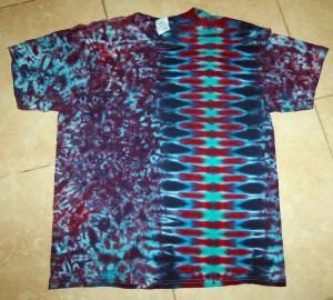 tie dye, tie-dye, tie-dyed, tie dyed, shirt, zipper, purple