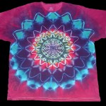 tie dye, tie-dye, tie dyed, tie-dyed, shirt, purple, star