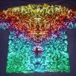 tie dye, tie-dye, tie dyed, tie-dyed, shirt, rainbow, marble