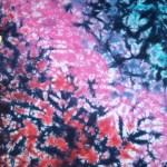 burgandy pink marble tie dye