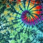 Green Marble Swirl tie dye