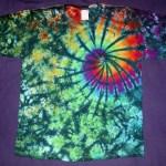 tie dye, tie-dye, tie-dyed, tie dyed, shirt, swirl, green