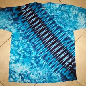 tie dye, tie-dye, tie dyed, tie-dyed, shirt, blue, zipper
