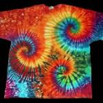 tie dye, tie-dye, tie dyed, tie-dyed, shirt, swirl, swirls