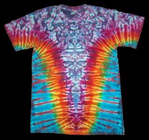 tie dye, tie-dye, tie dyed, tie-dyed, shirt , pink, marble, rainbow