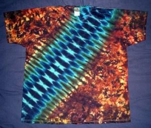 tie dye, tie-dye, tie dyed, tie-dyed, shirt, zipper, blue, rusty