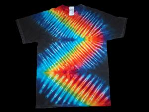 tie dye, tie-dye, tie dyed, tie-dyed, shirt, rainbow