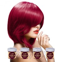 Directions Rose Red Semi Permanent Hair Dye 4 Pack, La