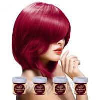 Directions Rose Red Semi Permanent Hair Dye 4 Pack, La ...
