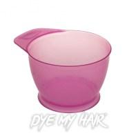 Hair Dye Hot Pink Mixing Bowl, Beauty Salon Tinting Accessory