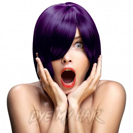tinte capilar semi permanente de crazy color violette violeta