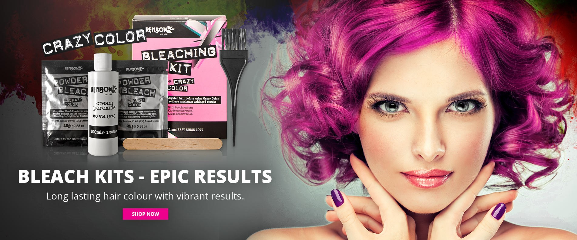 Hair Dye Bright Temporary Color Products Shop Best