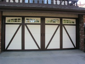 Tudor Insulated Steel Door w/Windows