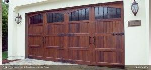 RHD wood Garage Door 239