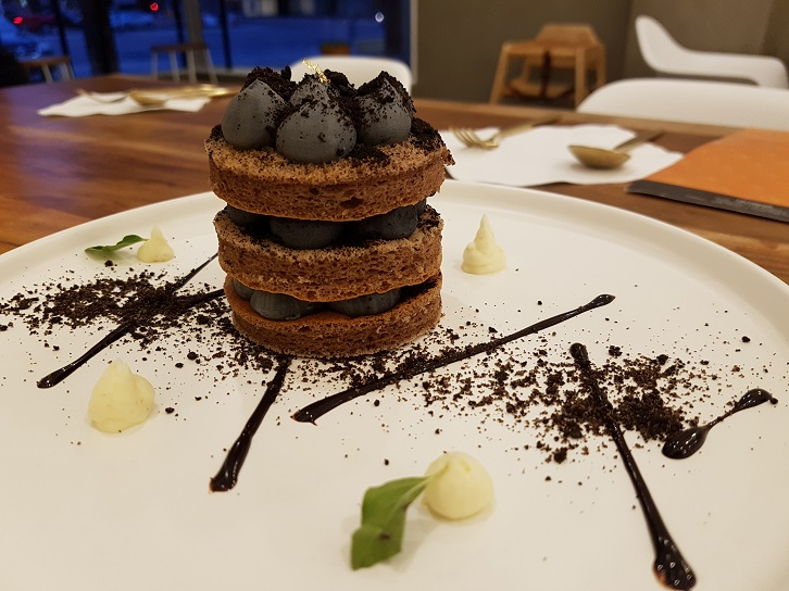 charcoal cheam cheese chi patisserie
