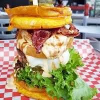 Mississauga's Epic Gladiator Burger Makes Meals For Champions