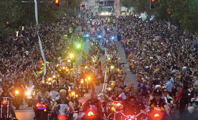 Dykes on Bikes 2019 Mardi Gras After Party