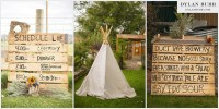 Outdoor Rustic Montrose Colorado Wedding