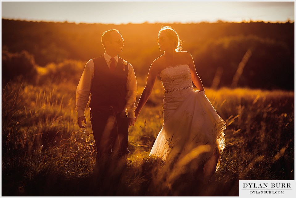 Outdoor Rustic Montrose Colorado Wedding  Montrose Wedding Photographer  Erin and Levi