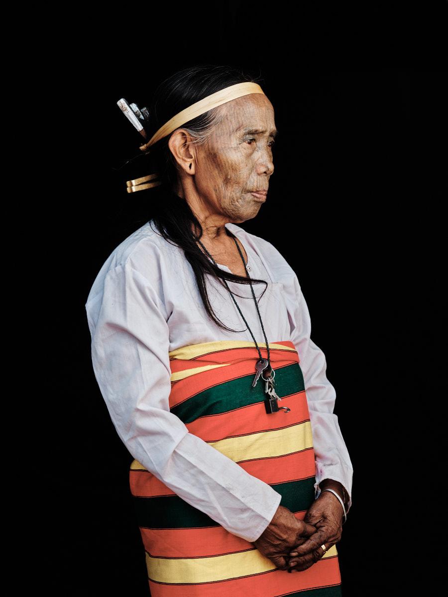 Yindu Traditional Clothing - Chin State, Myanmar