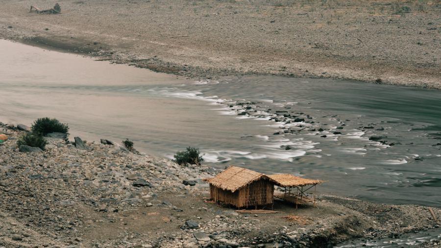 Temporary Hut - Laymyo River