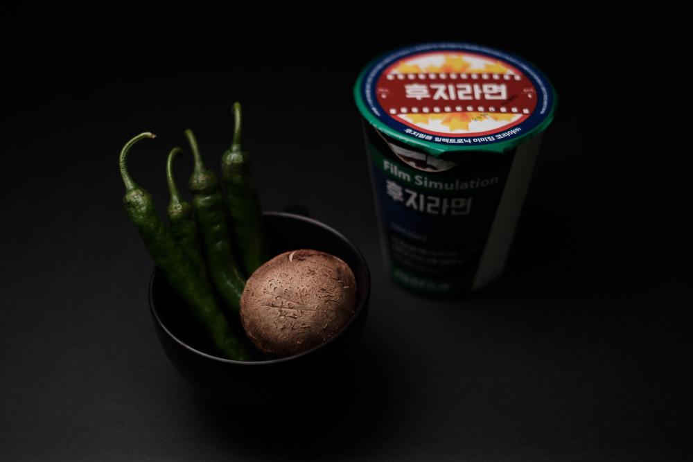 Top Light Food Photography