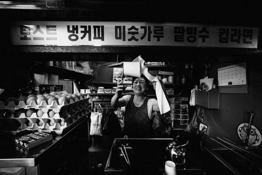 Street Food, Euljiro, Seoul, Korea