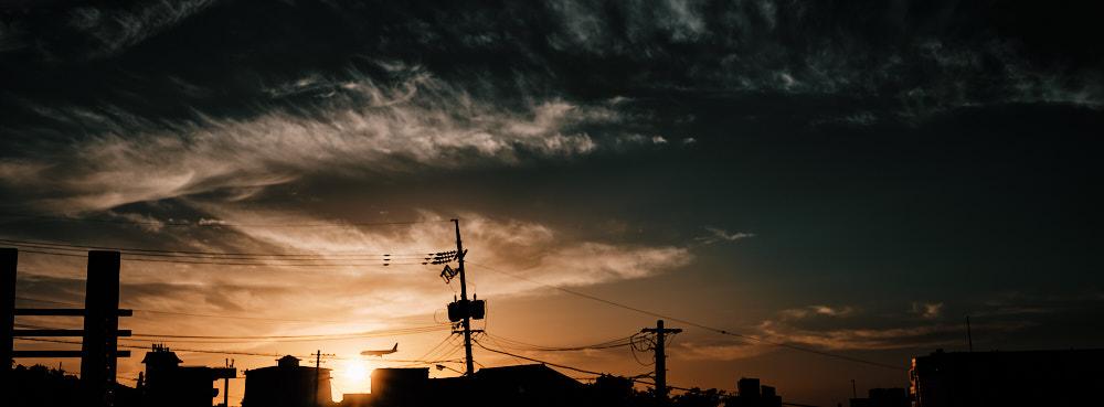 Sunset in Jeju City