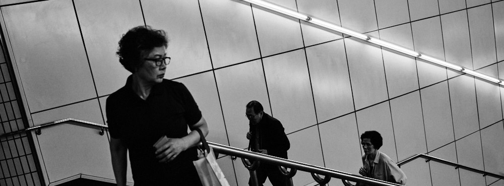 Seoul Subway stairs