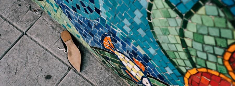 Hanoi, Vietnam - Abandoned shoe