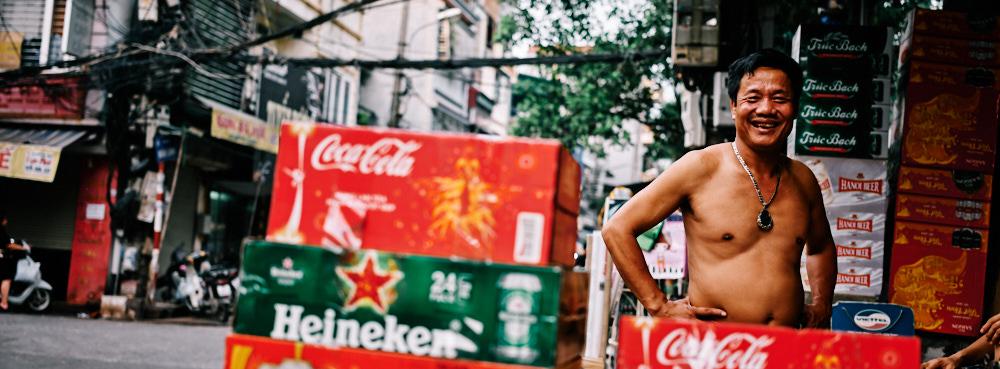 Hanoi, Vietnam - Drinks by the Box