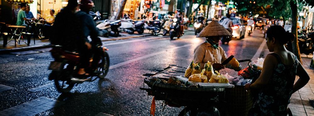 Hanoi, Vietnam - Fruit Seller