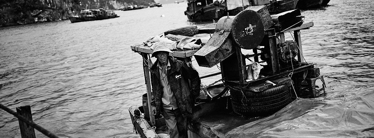 Back from sea, Ha Long City, Vietnam