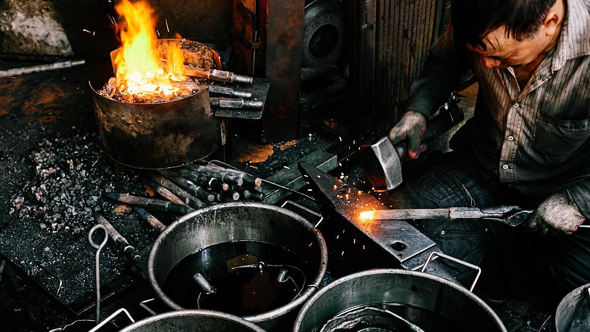 Blacksmith, Ha Noi, Vietnam