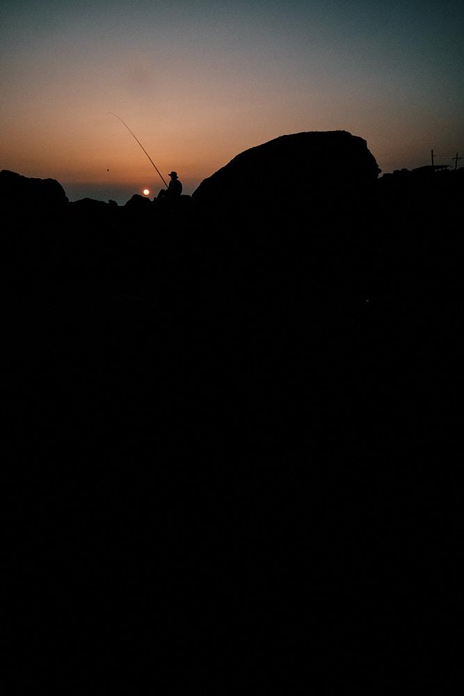 Sunset on Jeju Island