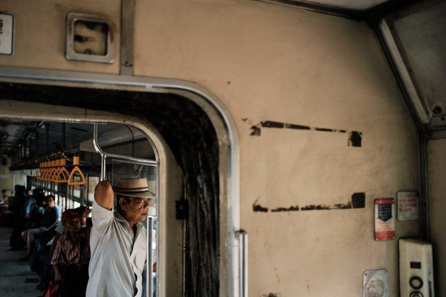 Yangon Circular Train Passenger