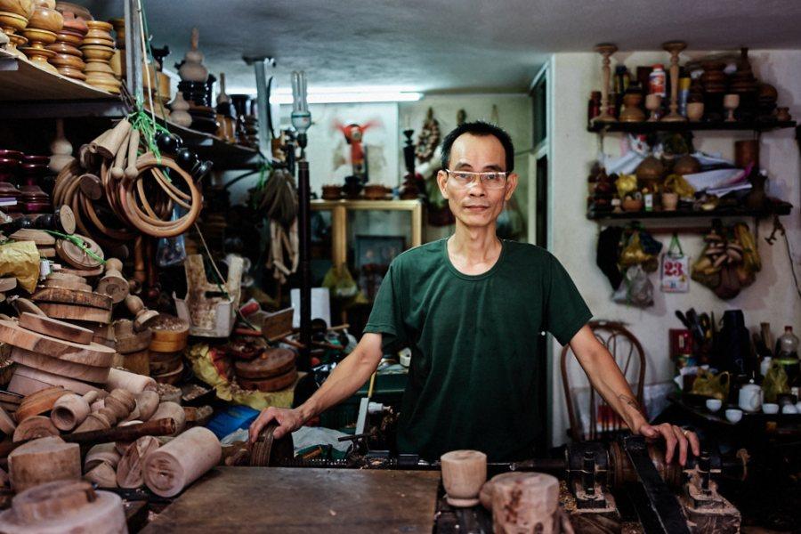 Hanoi Old Quarter Wood Turner